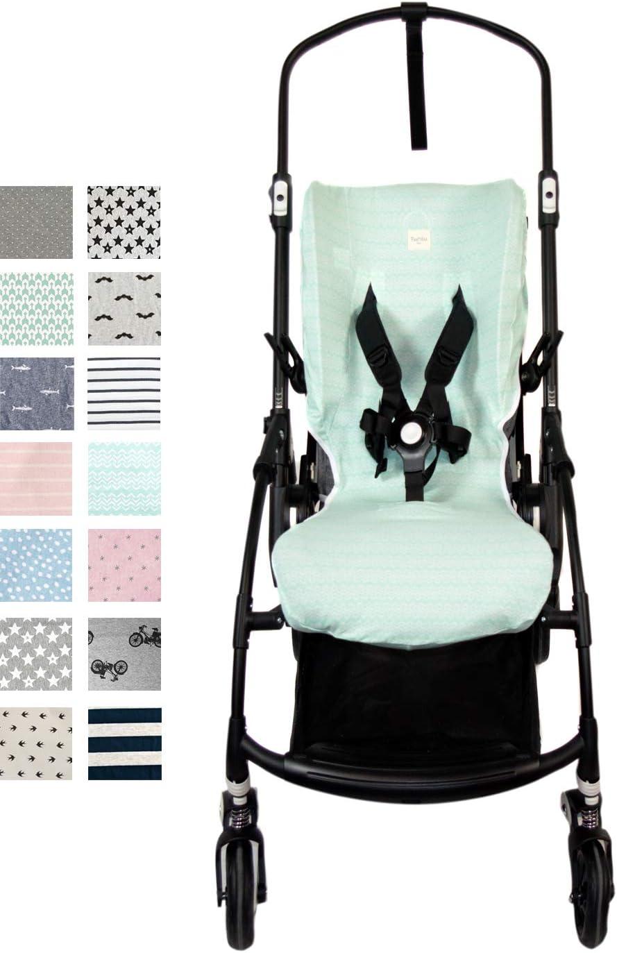 Fundas BCN ® - F170/7001 - Funda de algodón para silla de paseo ...