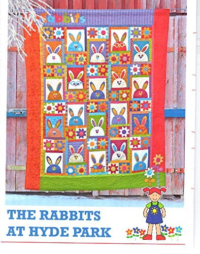 The Rabbit's at Hyde Park Quilt Pattern from The Red Boot Quilt Co. 63.5