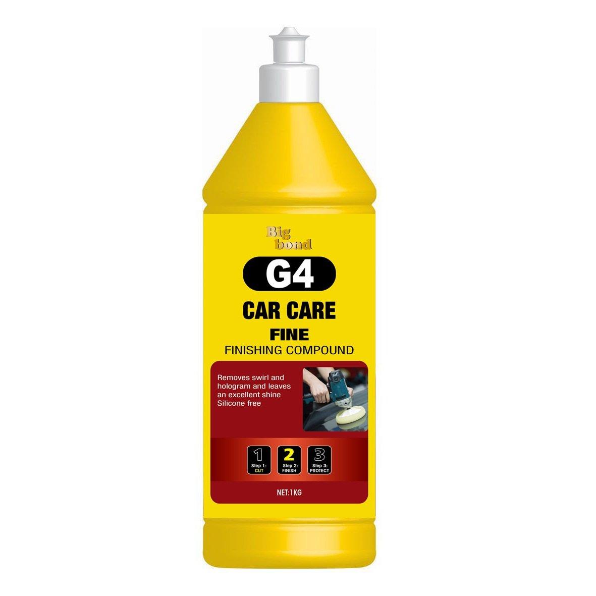 G4 Car Care Fine Finishing Compound - 1 KG (35 oz) Big Bond