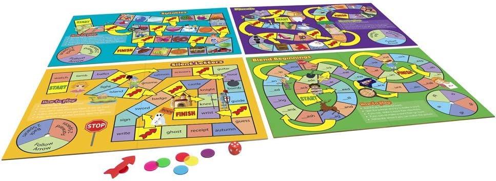 Junior Learning JL423 - Juego de mesa de ortografía, multicolor , color/modelo surtido: Amazon.es: Juguetes y juegos