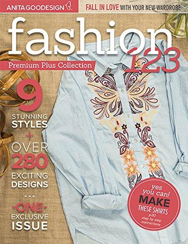 Anita Goodesign Embroidery Machine Designs CD FASHION 1,2,3 Premium Plus Collection