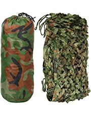Yaheetech 3 x 5 m camouflage bos camouflage leger net camouflage camouflage decoratie bos zonwering