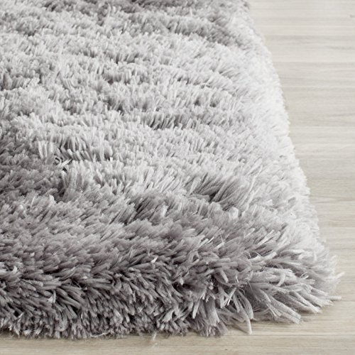 Amazon Com Safavieh Arctic Shag Collection Sg270g Handmade Grey