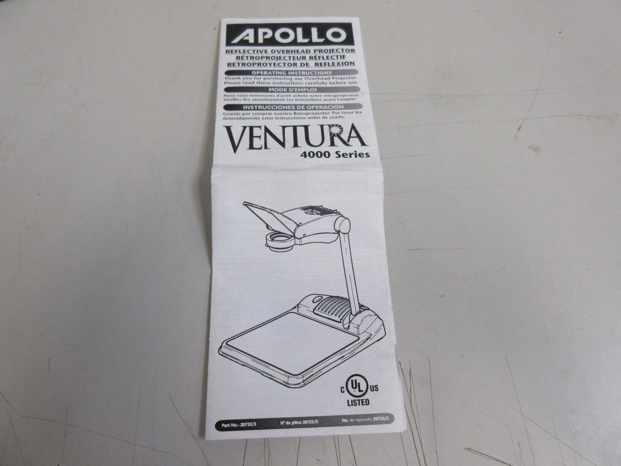 Amazon.com: Apollo – Ventura 4000 Series, 20733/3 ...