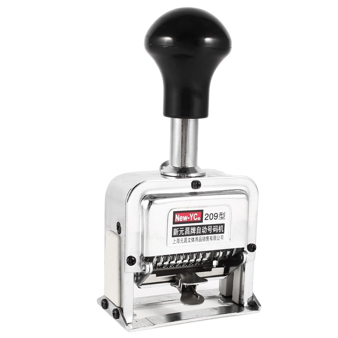 Perilla de Negro Número 9 la Numeración automática de la 9 máquina w Instrucciones 1d16a9