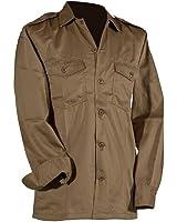 US Army hochwertiges langärmliges oder kurzärmliges Hemd Größe S-XXXXXL Übergröße Farbe Schwarz oder Khaki