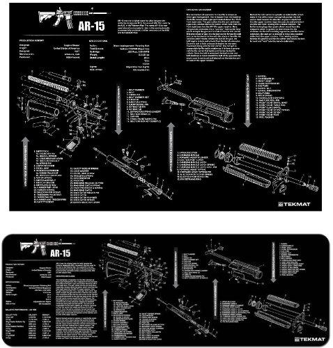 Ultimate Arms Gear AR15 AR-15 AR 15 M4 M16 Gunsmith & Armorer's Poster 24