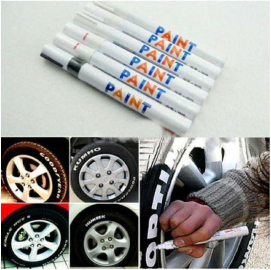 Universal Waterproof Permanent Paint Oil Marker Pens For Car Tyre Tread Metal