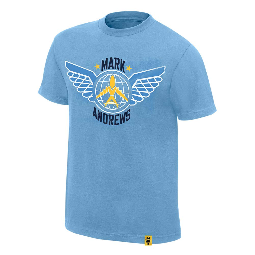 Andrews com Mark Nxt Wwe Amazon Clothing T-shirt Authentic