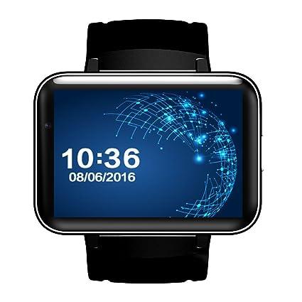 Amazon.com: shengmo dm98 reloj inteligente MTK6572 3 G ...