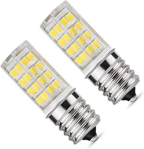 Amazon.com: Bombilla LED E17 para microondas, 5 W, luz ...