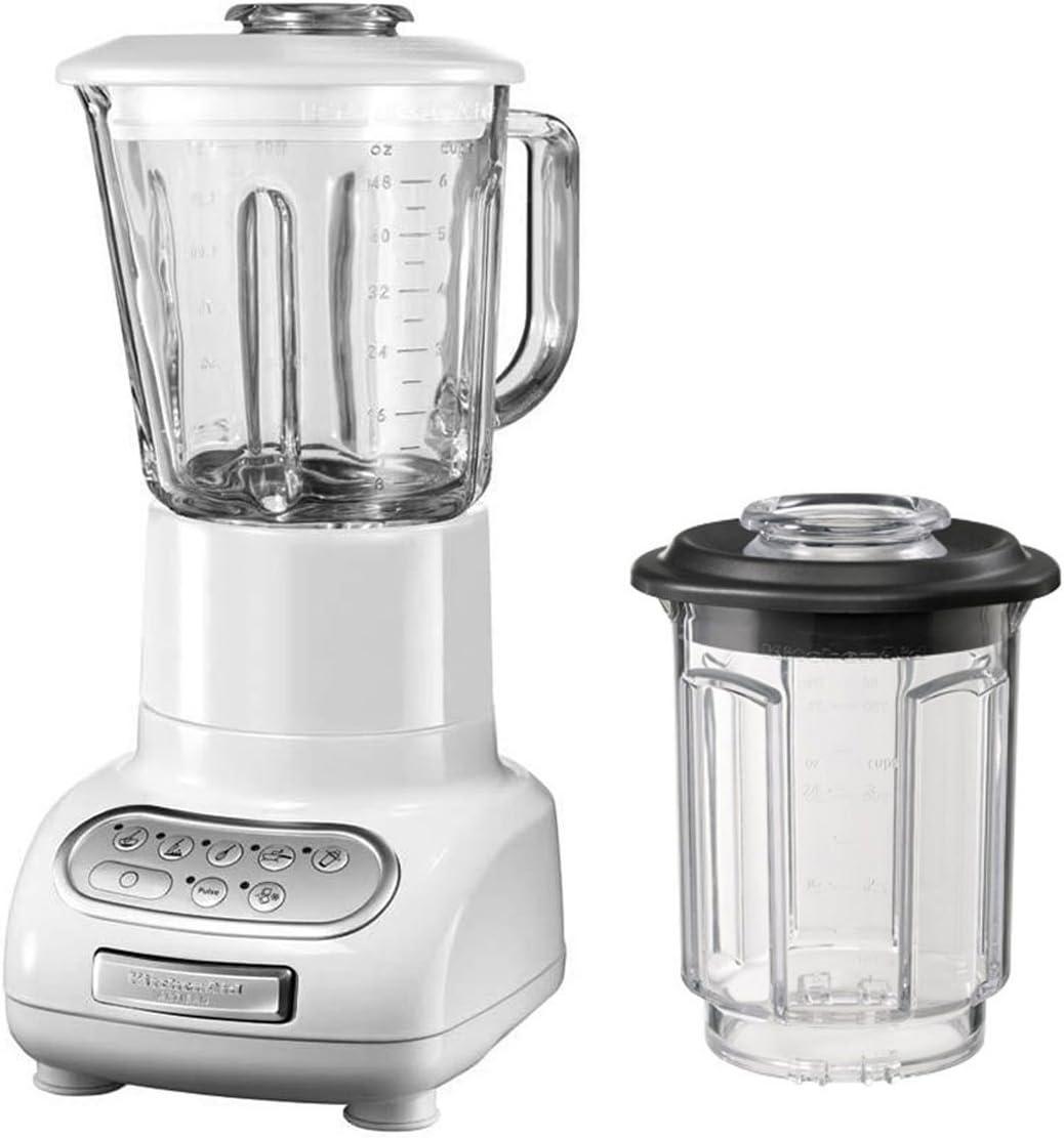 KitchenAid Artisan - Batidora de vaso blanco: Amazon.es: Hogar