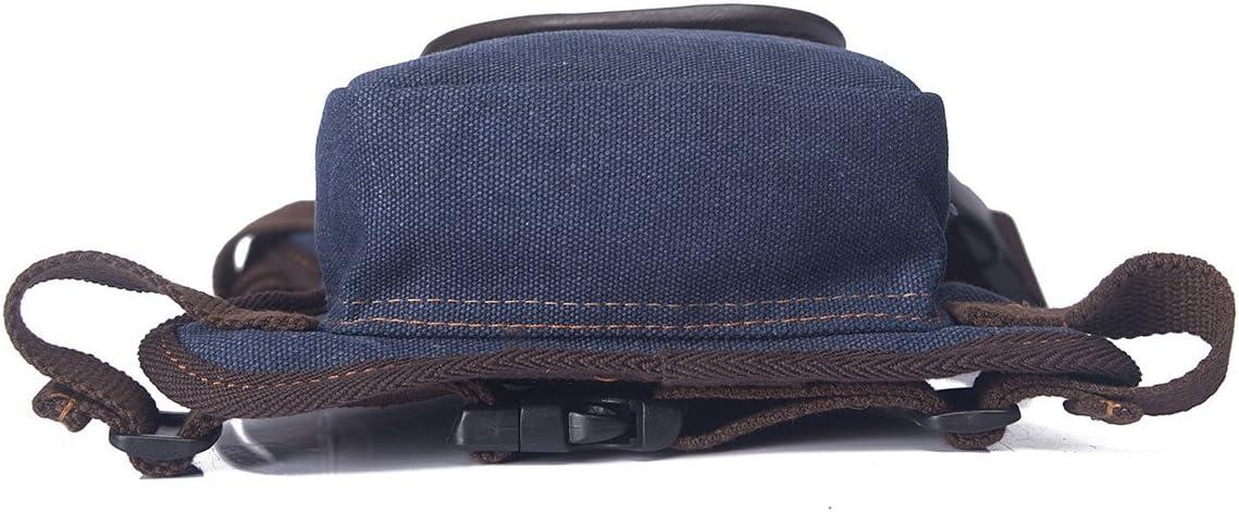 Dreamworldeu Damen Herren Beintasche H/üfttasche aus Segeltuch Vintage Oberschenkel Tasche Camping Outdoor Multifunktionale Tasche