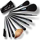 Makeup Brushes Set-12 Pieces and Free PU Leather Pouch