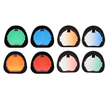 Sunmns Close Up Color Lens Filter Set for Fujifilm Instax Mini 90 Neo Classic Instant Film Camera 4 Piece