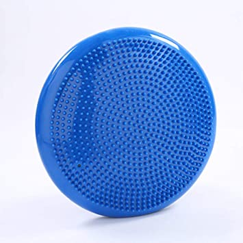 Cojín de Equilibrio 33 cm, PVC de Masaje de Yoga Inflable ...