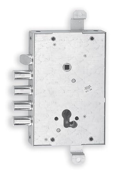 Iseo — Cerradura para puertas blindadas, artículo 668GF (Cisa), 1 unidad