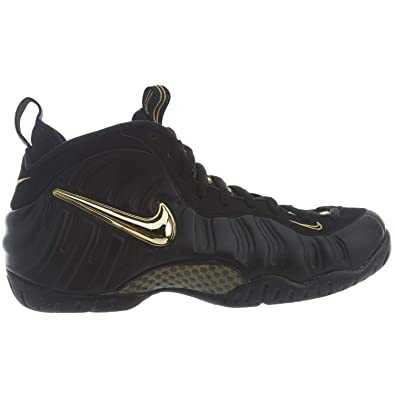 quality design 089d2 a6599 Image Unavailable. Image not available for. Color  Nike Men s Air  Foamposite PRO  Black Metallic Gold  624041-009 ...