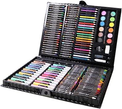 Lápiz para Colorear, Set para Pintar y Dibujar, Regalo para niños, Principiantes, Negro.: Amazon.es: Juguetes y juegos