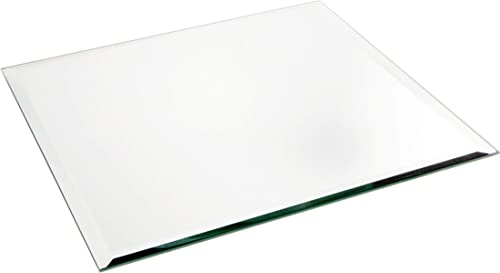 Plymor Square 5mm Beveled Glass Mirror, 12 inch x 12 inch Pack of 12
