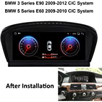 Car Stereo GPS Navigation Applicable for BMW 3 Series Series E90 E60 E60, Head Unit Car Radio Player 10.25 Inch Touch…