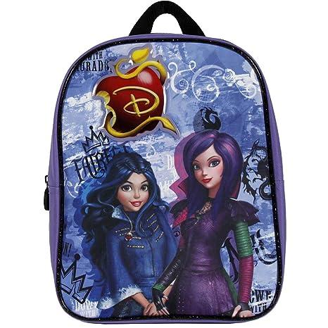 Perletti 13735 - Mini mochila de niña de la serie animada Disney Descendientes, Morado