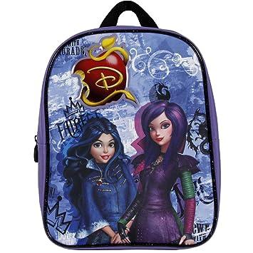 Perletti 13735 - Mini mochila de niña de la serie animada Disney Descendientes, Morado: Amazon.es: Equipaje