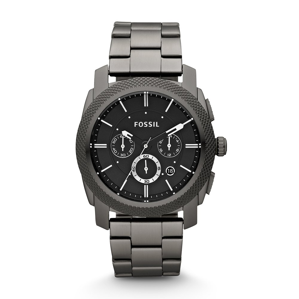 Mens Fossil Machine Chronograph Watch FS4662 With Black Dial