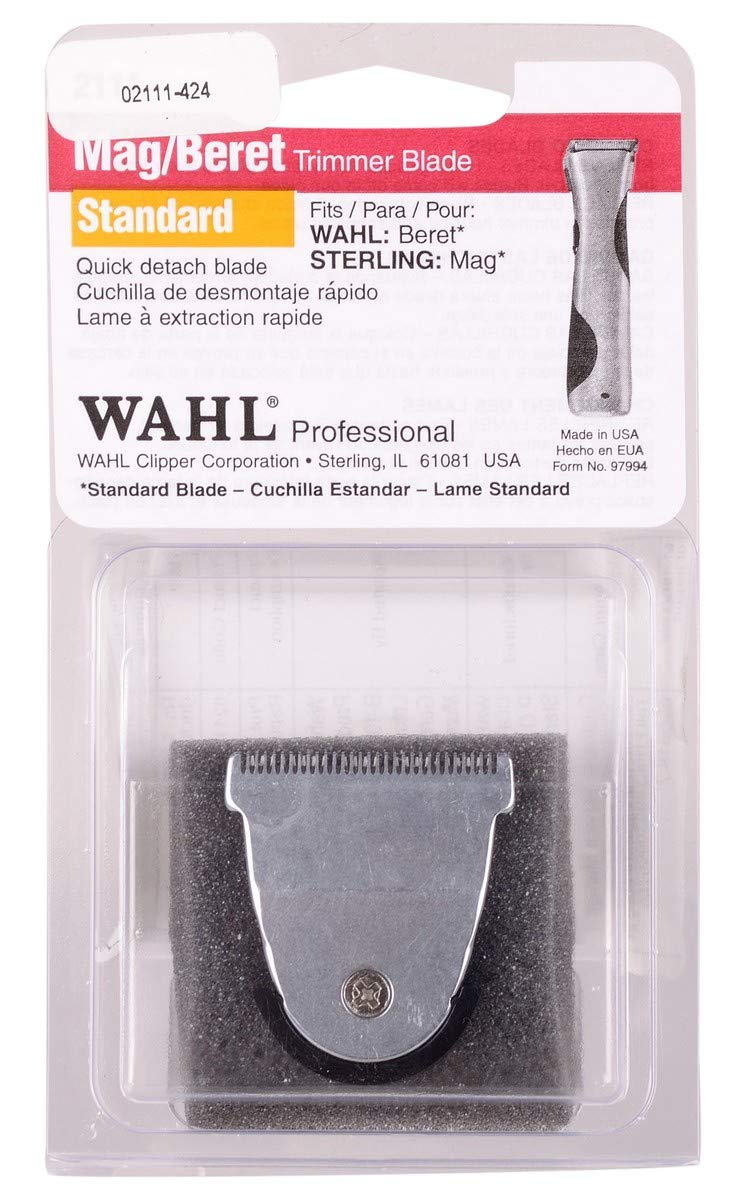 Wahl Professional Detachable Replacement Blade #2111 – Fits Echo, Beret, MAG and Sterling 4 Trimmer Models