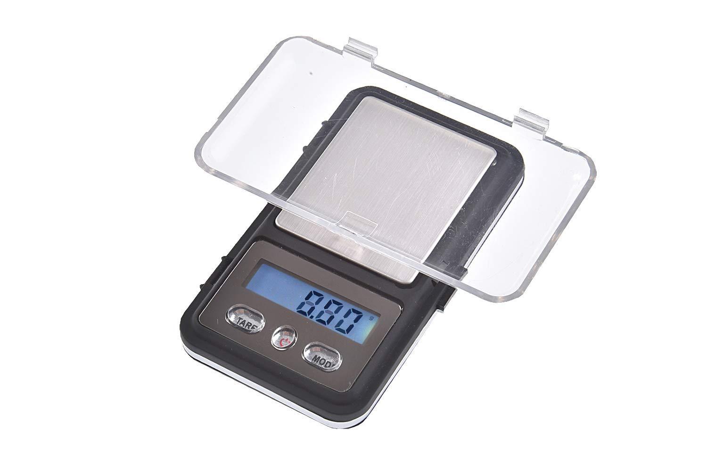 Quantum Abacus Precise: Balance digital de pré cision/pè se-lettre/microbalance/tré buchet/balance de poche, ré solution pré cise de 200gr / 0,01gr, Mod. MINI333-200g0.01g résolution précise de 200gr / 0