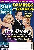 Cynthia Watros, Robert Newman & Kim Zimmer (Guiding Light) - February 24, 1998 Soap Opera Digest