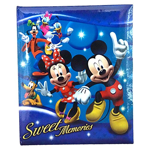 Disney Mickey Mouse and Gang 'Sweet Memories' 200 Picture Photo Album (Walt Disney Eeyore)