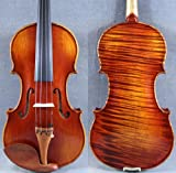 D Z Strad Model 450 Old Antique 4/4 Violin Open Clear tone Beautiful One Piece Maple Back