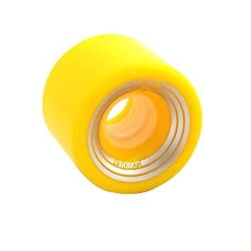 Losenka Exclusivo Ruedas para Penny Globe Skateboard para Calle Street de Monopatin(Rojo/Verde/Amarillo/Naranja/Azul/Negro/Azul Transparente/Verde ...