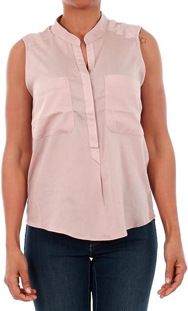 Vero Moda Camisa Mujer Rosa 10192814 VMERIKA Mix S/L Shirt NFS SPHINKS: Amazon.es: Ropa y accesorios