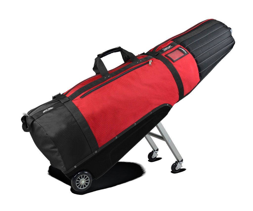 Sun Mountain Clubglider Meridian Travel Bag, Black/Red by Sun Mountain