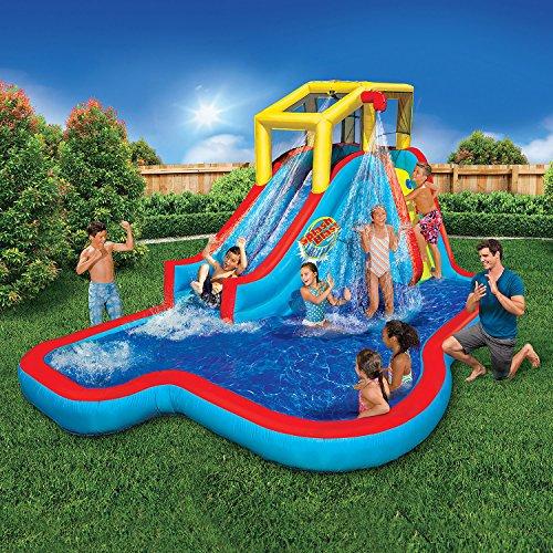 Banzai Spring & Summer Toys Slide 'N Soak Splash Park