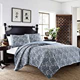 Tommy Bahama Indigo Quilt Set, Full/Queen, Fenders Bay