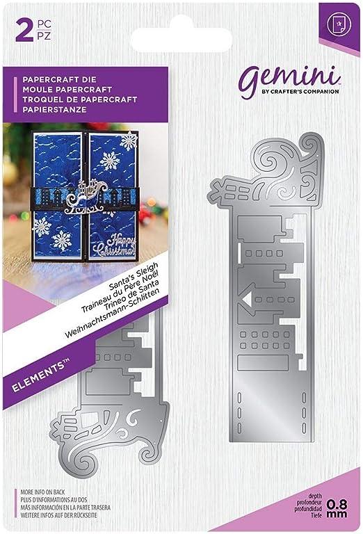 Multi-Colour Crafters Companion GEM-MD-ELE-SFTS Gemini Elemente Wickeln Matrize F/ür Cardmaking und Nach Den Sternen Schie/ßen Crafting Einheitsgr/ö/ße