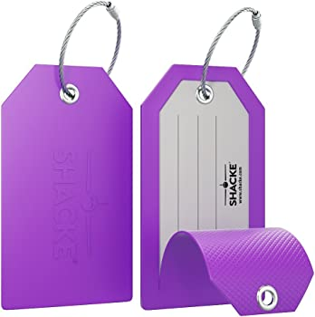 Shacke Privacy Colorful Luggage Tag
