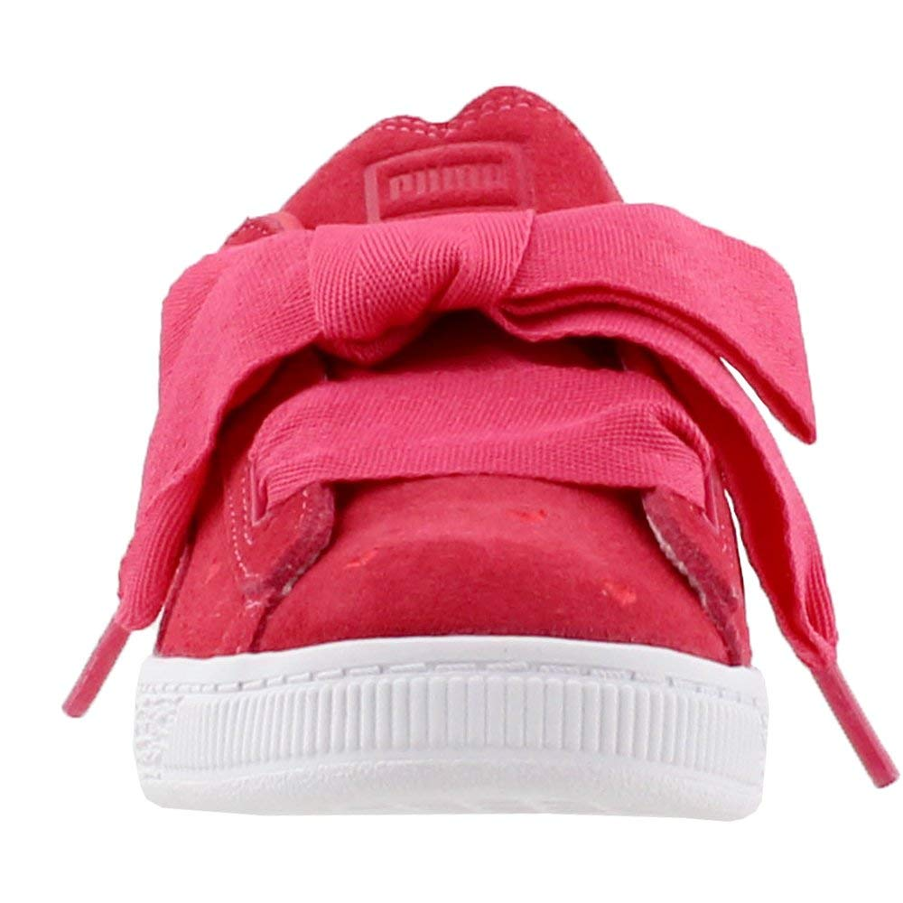 e094a94d70bf31 Amazon.com  PUMA Kids Womens Suede Heart Valentine (Little Kid)  Shoes