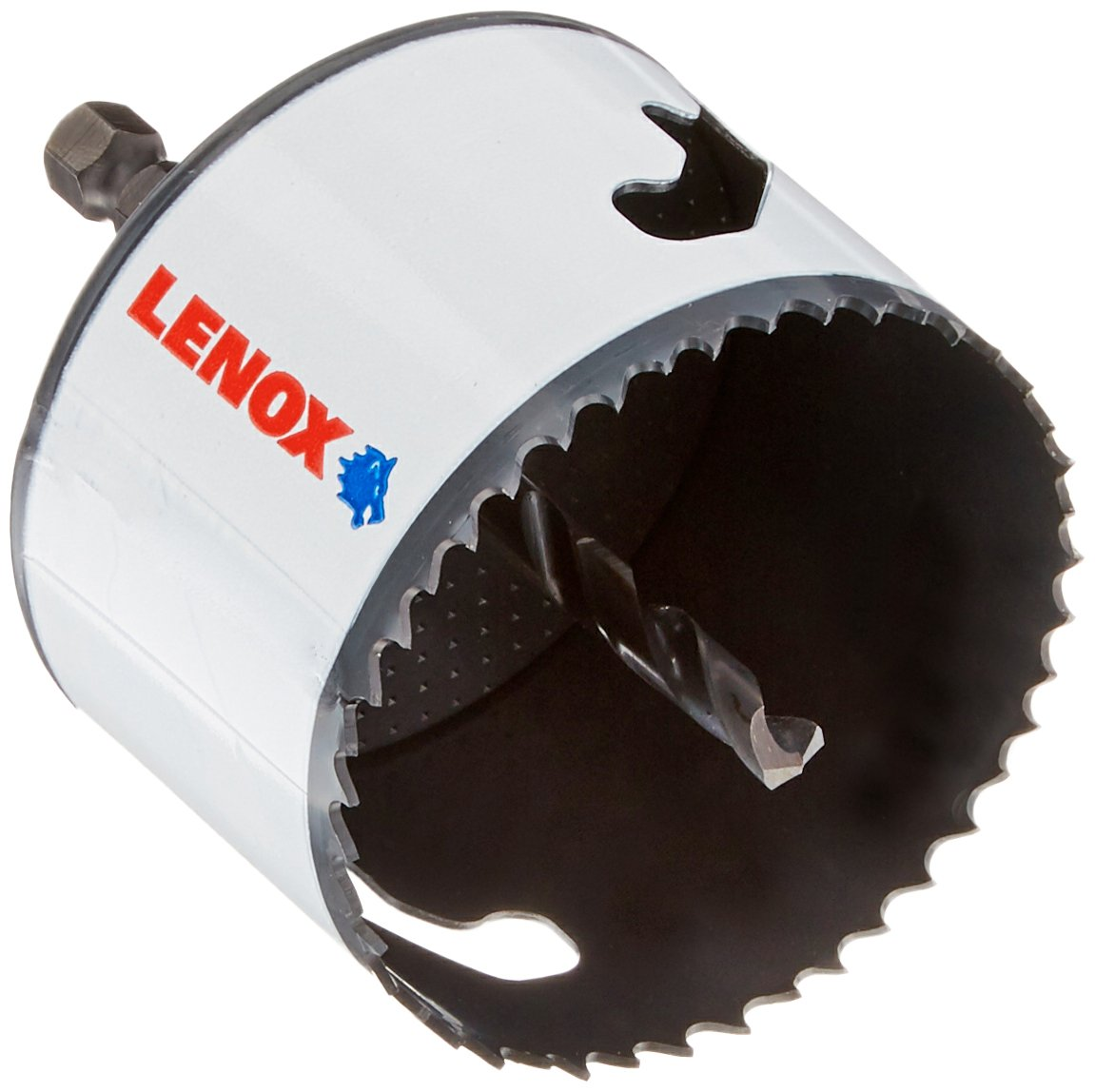 LENOX Tools Bi-Metal Speed Slot Arbored Hole Saw with T3 Technology, 2-7/8'' by Lenox Tools