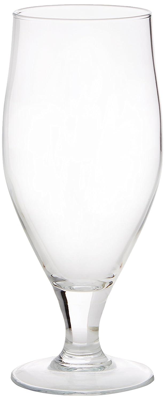 Cervoise Stemmed Beer Glasses 17.6oz / 500ml - Set of 6 | 50cl Glasses, Craft Beer Glasses, Stemmed Lager Glasses, American Pokal Glasses Arc International