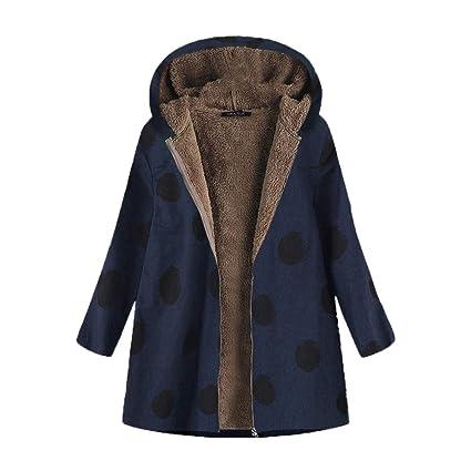 Abrigos de la Mujer, TWBB Chaqueta de suéter con Capucha de Dos Piezas de Patchwork Falso con Capucha de Mujer: Amazon.es: Ropa y accesorios