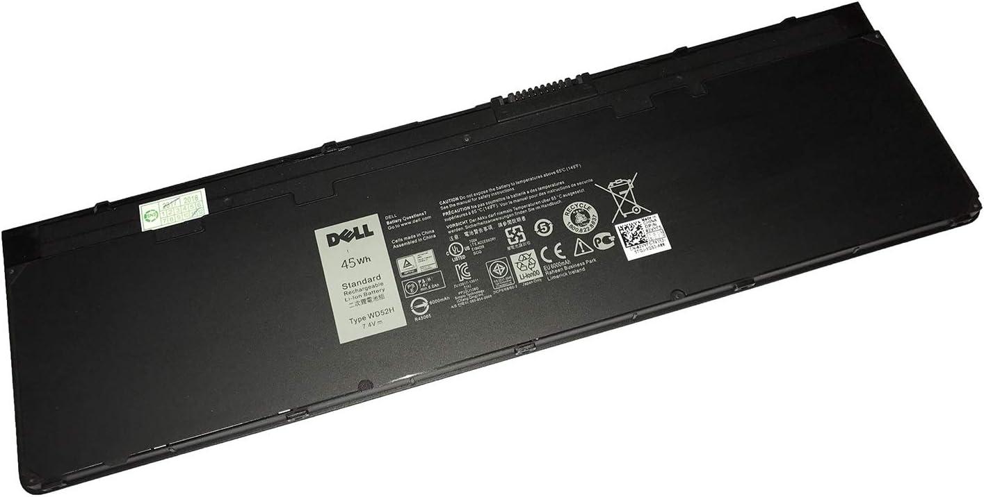 DELL WD52H 7.4V 45WH Battery for DELL Latitude E7240 E7250 Laptops P/N:WD52H VFV59 KWFFN J31N7 451-BBFW 451-BBFX GD076 GVD76 HJ8KP NCVF0