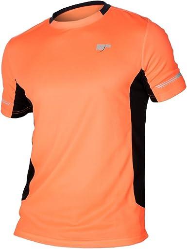 Sphere-Pro 7018034XXXL Camiseta Deportiva, Hombre, Naranja (Mandarina), 46/ 3XL: Amazon.es: Ropa y accesorios
