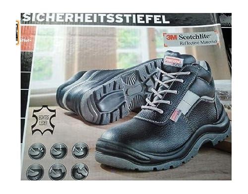 huge discount 59a12 e48cb Powerfix, Scarpe Antinfortunistiche Uomo Schwarz/Grau 41 ...
