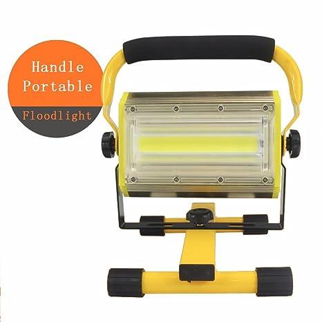 Mettime Alta Potencia Portátil Foco Lámpara LED Proyector Lámpara ...