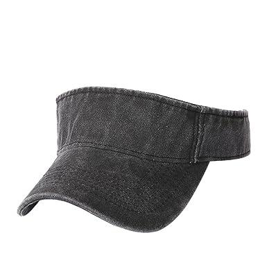 633074cd6e0 Gaddrt Adjustable Casual Unisex Summer Visor Sun Caps