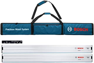 Bosch Professional 0615990EE8 FSN Bag with Two FSN 1600 Guard Rails and One FSN VEL for Connecting Guide Rails